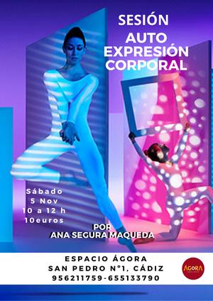 Sesión de relajación y autoexpresión corporal