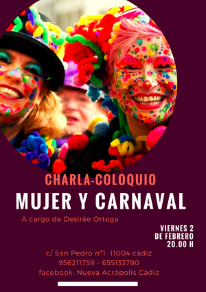 Charla coloquio: Mujer y Carnaval